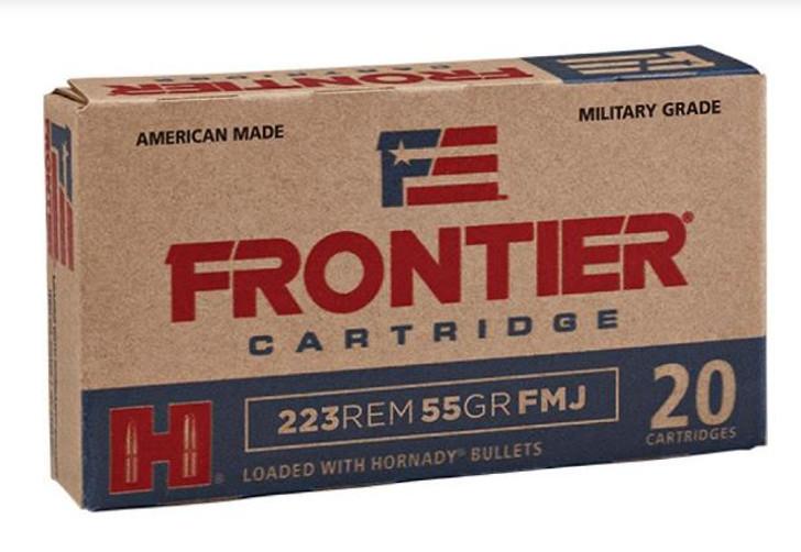 Frontier Cartridge .223/5.56 NATO 55 GR FMJ FR100