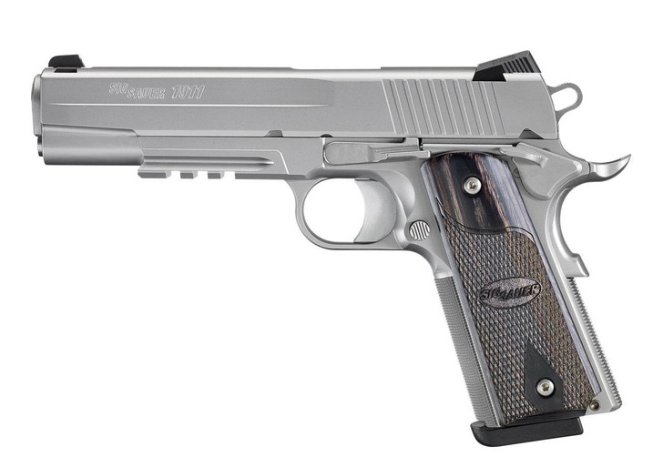 Sig Sauer 1911R Stainless Steal California Complaint 1911R-45-SSS-CA