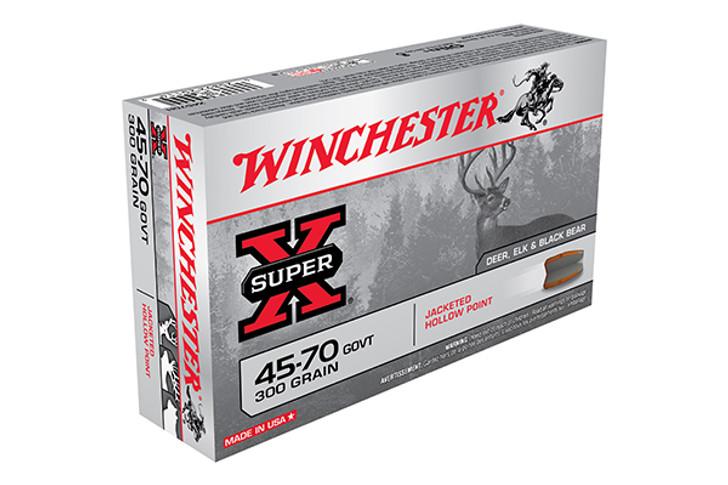 Winchester .45-70 GOVT 300 Grain JHP 20 Round Box X4570H