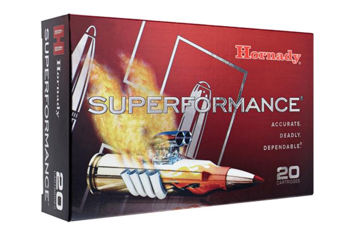 Hornady Superformance 25-06 Rem 117 Grain SST 20 Rnd Box 81453