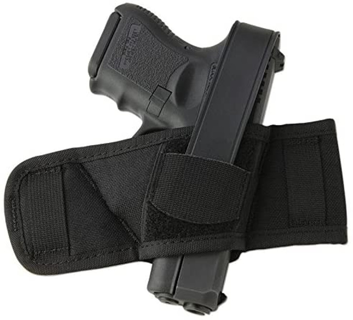 Uncle Mike's, Side Bet Holster, Fits Auto/Revolver, Ambidextrous, Black - 8690-0