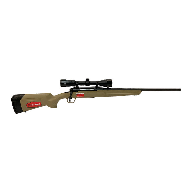"SAVAGE AXIS II RIB 6.5 CREEDMOOR 22"" FDE (SCOPE EXCLUDED) 57438"
