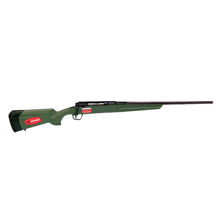 "SAVAGE AXIS II RIB 6.5 CREEDMOOR OD GREEN 22"" 57443"