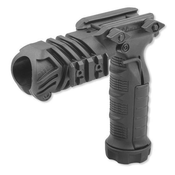 CAA Flashlight Grip Adaptor Picatinny Mount Polymer Black FGA