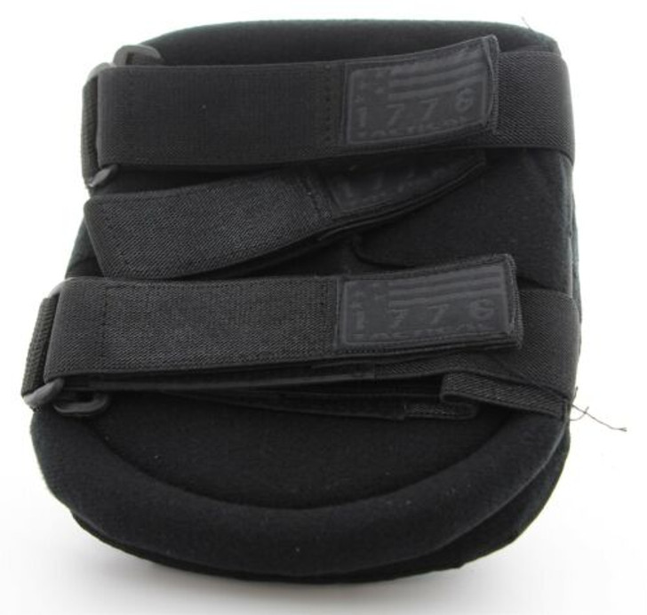 1776 Ironclad Knee + Elbow Pads (Pair Each) Black One Size Comfort Fit IR721046