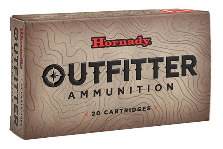 Hornady Outfitter .338 Winchester Magnum Ammunition 20 Rounds 225 Grain GMX 82339
