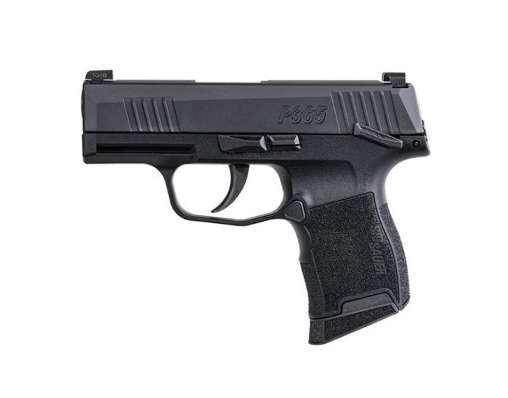 Sig Sauer P365 10-Round 9MM Handgun with Night Sights and Manual Safety W365-9-BXR3-MS