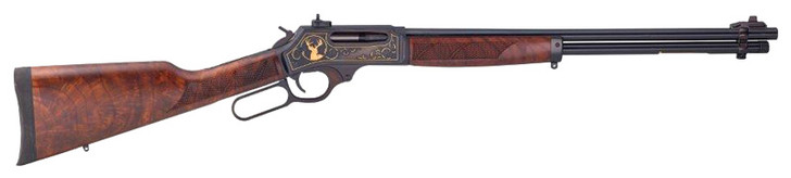 """Henry Wildlife Edition .30/30 Lever Action Rifle .30-30 Win 20"""" Barrel 5 Rounds Walnut Stock Blued Finish H009WL"""