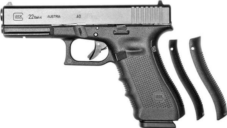 "GLOCK 22 G22 GEN 4 HGA 40S&W 4.49"" BBL FS 5# 3/15RD MAGS W/BACKSTRAPS DUAL RECOIL SPRING UG2250203"