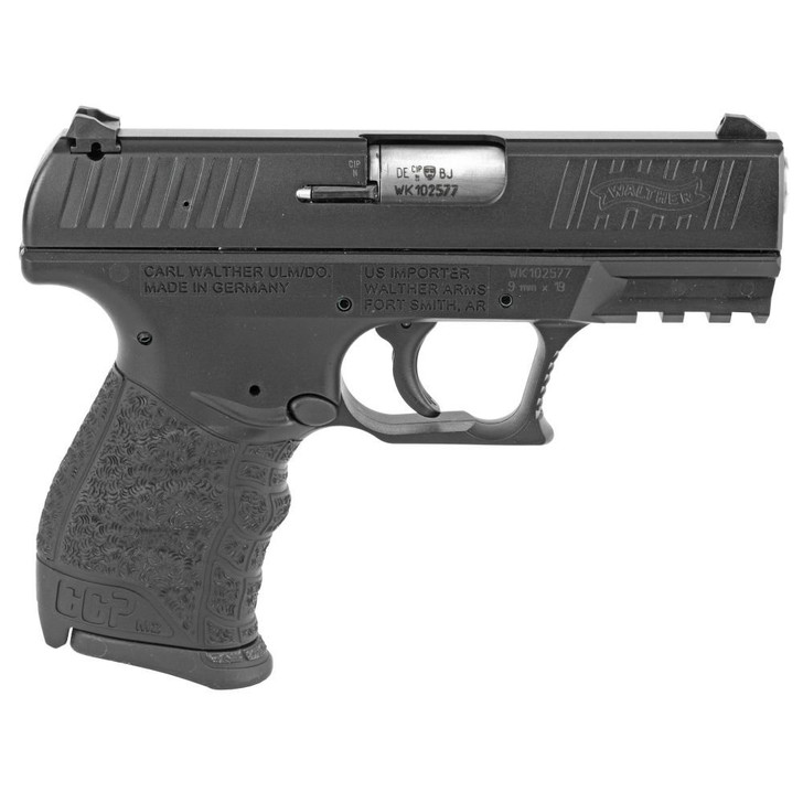 WALTHER CCP M2 HGA .380 AUTO 3.54IN BBL FS BLACK 2 8RD MAGS  5082500