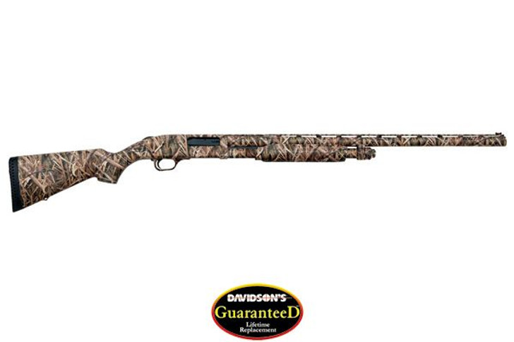 "Mossberg 835 Ulti-Mag Waterfowl Pump Action Shotgun 12 Gauge 3.5"" Chamber 28"" Vent Rib Barrel 5 Rounds Synthetic Stock Mossy Oak Shadow Grass Camo Finish 63521"