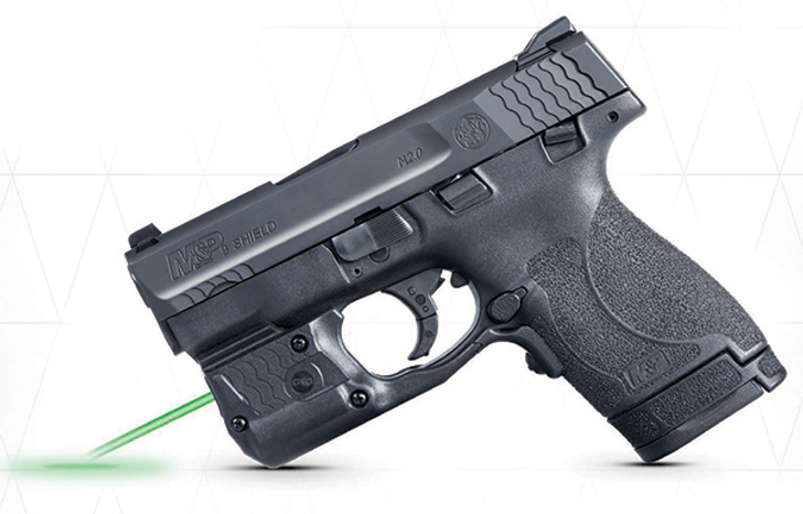 Smith & Wesson M&P9 Shield M2.0 w/ Crimson Trace LaserguardPRO Light/Green Laser 3.1″ 8+1 9MM 11811