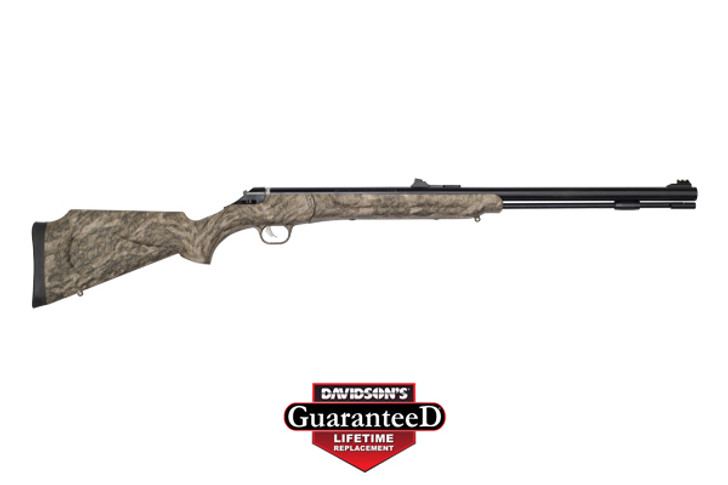"Thompson/Center IMPACT!SB Break Open .50 Caliber 26"" Single Shot Mossy Oak Bottomland Stock Blued Barrel 12285"