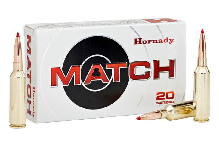 Hornady Match 6.5 PRC Ammunition 20 Rounds 147 Grain ELD Match Polymer Tip Projectile 2910fps 81620