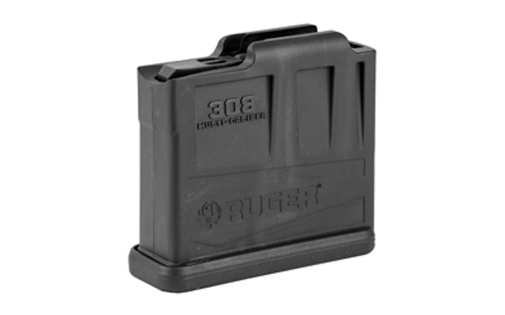 Ruger AI-Style Precision Rifle Magazine 5 Rounds Short Action .308 Win/6.5mm CM/.243 Win Polymer Black  90561