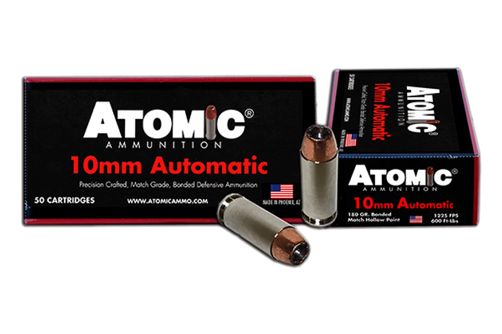 Atomic 00432 Defense 10mm Automatic 180 GR Bonded MHP - 50rd Box 00432