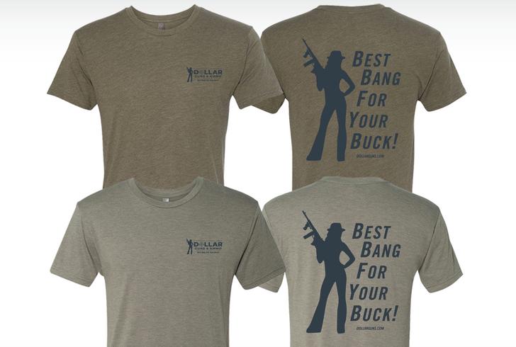 Womens Dollar Guns & Ammo T-Shirt WDGS