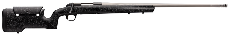 Browning X-Bolt Max Long Range Black/Satin Gray Bolt 300 WIN MAG 26 4+1 Black Gray Splatter Stock 035438229