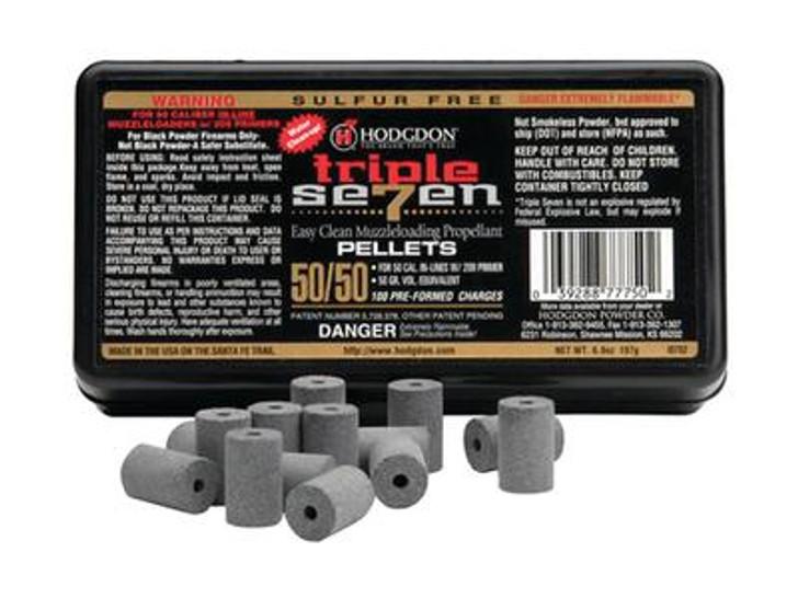 Hodgdon Triple 7 Muzzleloading Propellant Pellets .50Cal 50gr T75050