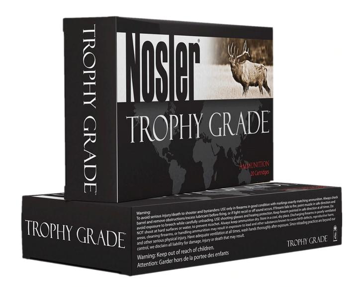 Nosler 243 Win Ammunition Custom Trophy Grade 90 Grain AccuBond 20 Rounds 48263