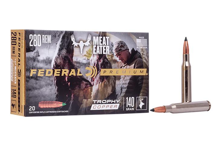 Federal Vital-Shok Trophy Copper 20RD 140gr 280 Remington P280TC2
