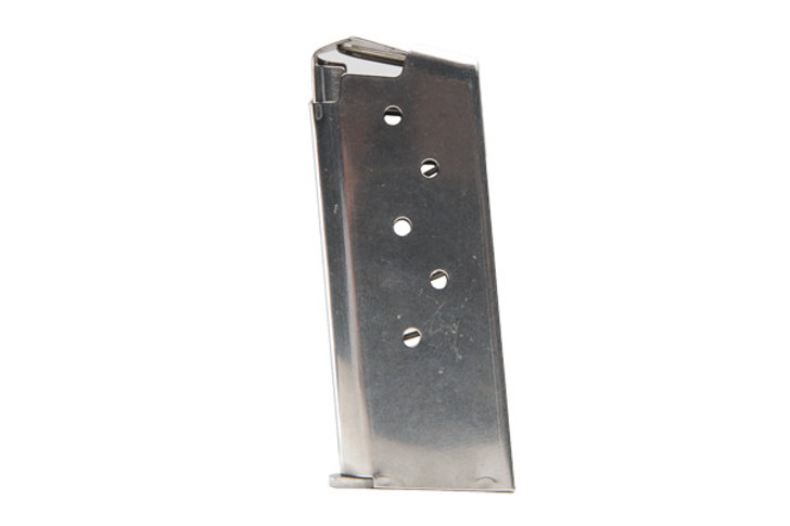SIG Sauer P938 Magazine 9mm Luger 6 Rounds Stainless Steel MAG-938-9-6