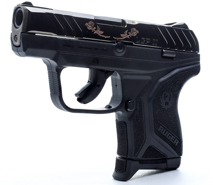 Ruger LCP II 380 LCP Rose Exclusive includes Pocket Holster and Two 6 Round Magazines 13712