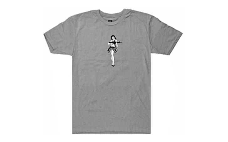 Magpul Industries Hula Girl Tee Shirt Gray MAG1117