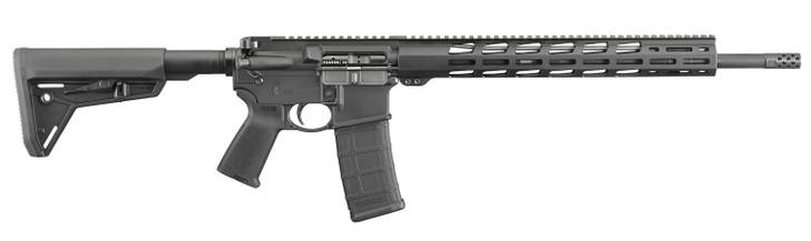 "Ruger AR-556 MPR 5.56 NATO 18"" 30+1 Black Hard Coat Anodized Magpul MOE SL Stock 8514"