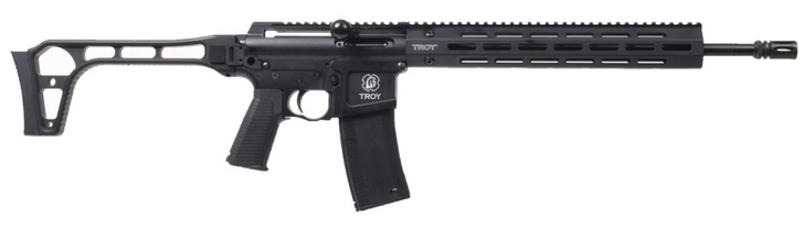 """TROY .223/5.56 16"""" Straight Pull Rifle SSAR-P23-16BT-00"""