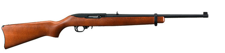 Ruger 10/22 Semi-Automatic Carbine 22LR Hardwood Model 1103