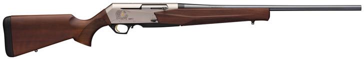 "Browning BAR MK3 Mark III 300 Winchester Mag 24"" Barrel 4+1 Rounds Walnut Stock Matte Nickel Receiver Blued Barrel Semi Automatic Rifle 031047229"