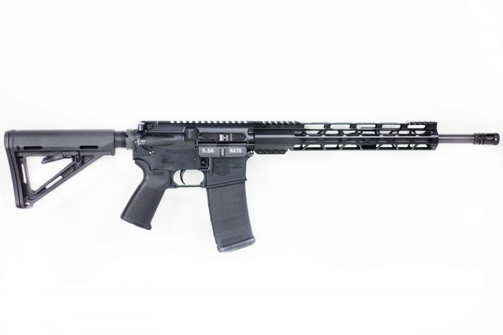 "Diamondback Firearms DB15 AR-15 Semi Auto Rifle 5.56 NATO 16"" Barrel 30 Rounds 12"" M-LOK Hand Guard Collapsible Stock Matte Black Finish DB15CCMLB"