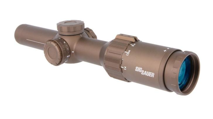 Sig Sauer Tango6T 5.56/7.62mm 1-6x24mm 30mm Riflescope w/ Illuminated Reticle, Flat Dark Earth, 30 mm SOT61231