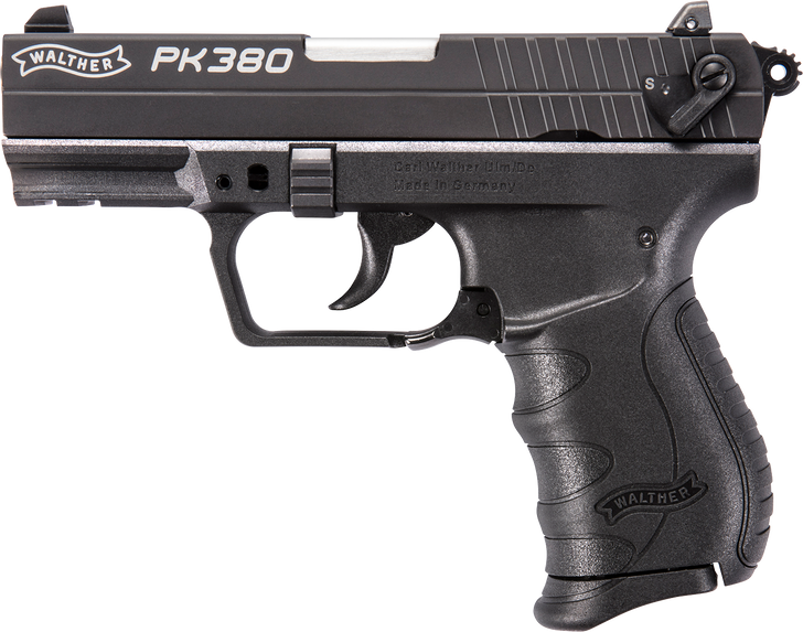 "Walther PK380 .380 ACP Black 3.66"" 8 Round Mag 5050308"