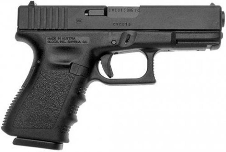 """Glock G19 Gen 3 9mm 15+1 Round 4.01"""" PI1950203"""
