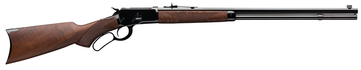 """Winchester Model 1892 Deluxe Octagon .44-40 Winchester Lever Action Rifle 24"""" Barrel Walnut Stock Gloss Blued Finish 534196140"""