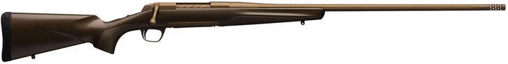 "Browning X-Bolt Pro .308 Win Bolt Action Rifle 22"" Threaded Barrel 4 Rounds Composite Carbon Fiber Stock Burnt Bronze Cerakote Finish 035418218"