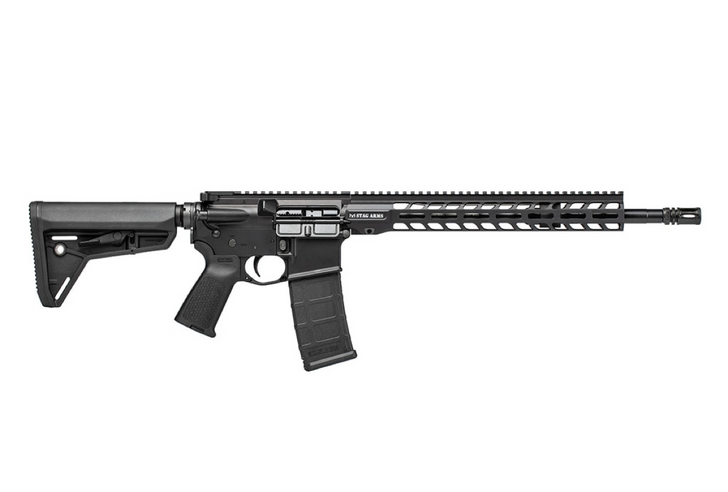 """Stag Arms Stag 15 M4 Tactical 16"""" Nitride Rifle - Cross Armory 5.56 NATO 