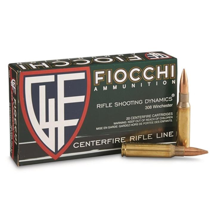 Fiocchi Shooting Dynamics 308 Winchester Ammo 150 Grain FMJ BT 308A
