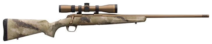 "Browning X-Bolt Hells Canyon Speed Rifle Leupold VX Freedom Scope 6.5 PRC 24"" Barrel A-TACS AU Camo Burnt Bronze Cerakote 035522294"