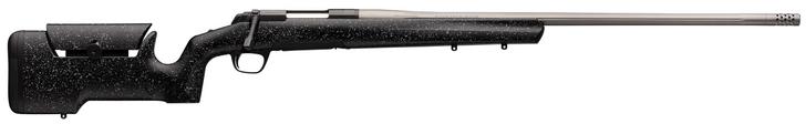 Browning X-Bolt Max Long Range Black/Satin Gray Bolt 30 Nosler 26 4+1 Black Gray Splatter Stock 035438295