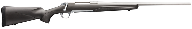 """Browning X-Bolt Stainless Stalker .300 Win Mag Bolt Action Rifle 26"""" Barrel 3 Rounds Matte Gray/Black Composite Stock Matte Stainless Finish 035497229"""