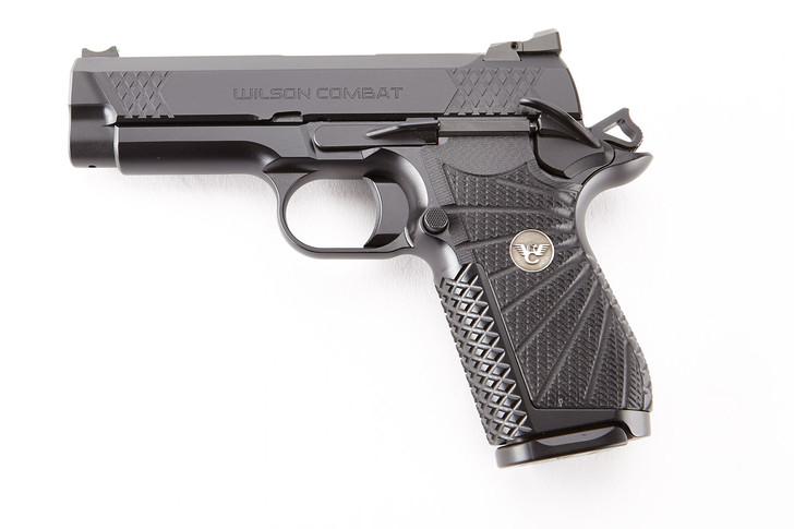 "Wilson Combat EDC X9 1911 9mm 15 Round 4"" Pistol Non-Lightrail Frame Black EDCX-CP-9A"