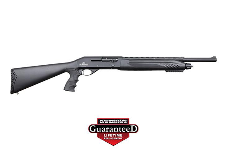 "Dickinson CK2 18.5"" 12 Gauge Shotgun Semi-Auto 5rd Black CK212TP"