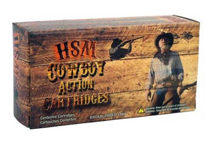 HSM Cowboy Action Ammunition 44-40 WCF 200 Grain Hard Cast Round Nose Flat Point