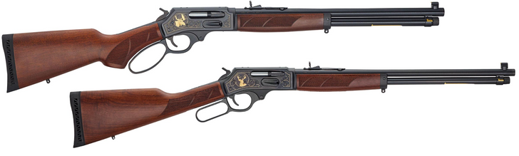 Henry Repeating Arms Steel Wildlife Edition Lever Action Large Loop .45-70 Side Gate H010GWL