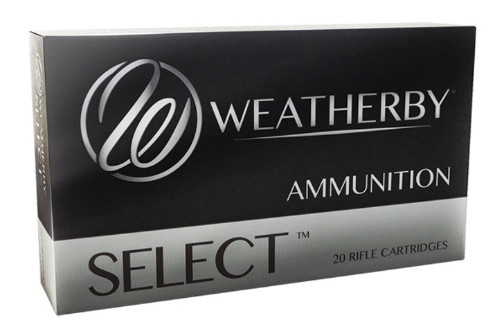 Weatherby Ammo Select 6.5 Weatherby Rebated Precision Magnum 140 Grain Interlock 20 Rounds H65RPM140IL