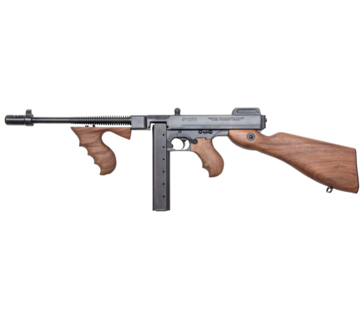 "Auto-Ordnance - Thompson 1927A-1 DELUXE SBR 45CAL 10.5"" 30+1 45 ACP  T1SB"