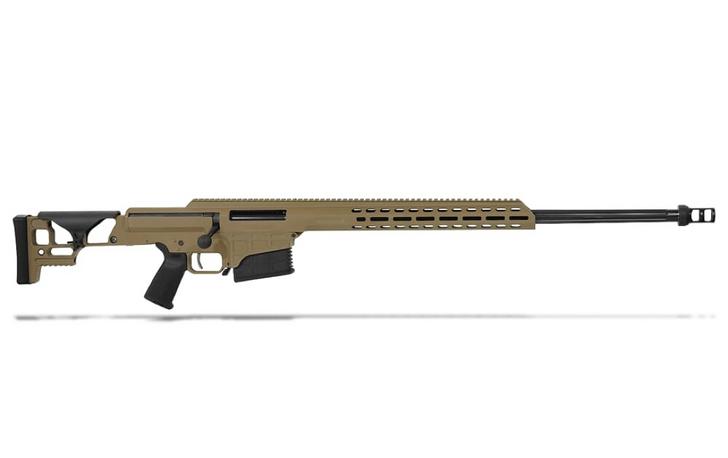 "Barrett MRAD .300 Norma Mag Bolt Action Fixed FDE 26"" Fluted Bbl 1:8"" 10rd Rifle 18509"